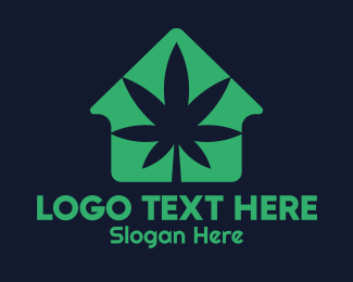 Joint - Weed House logo design