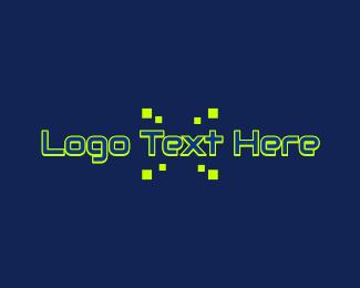 Text Logo - Techno Design Wordmark logo design