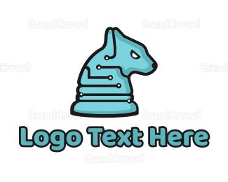 Computing - Tech Hound logo design