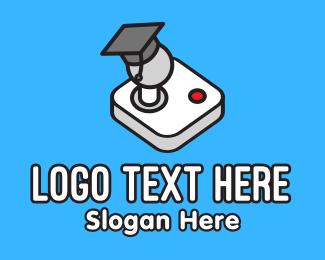 Game Buttons - Gaming Graduate logo design