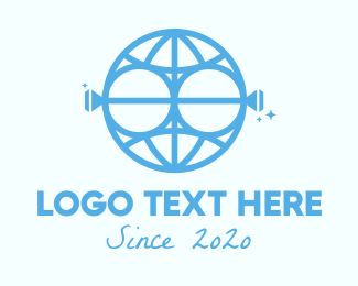 Jewelry - Blue Global Jewelry logo design
