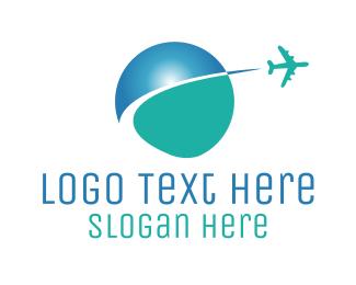 Global - Global Travel logo design