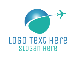 Tour - Global Travel logo design