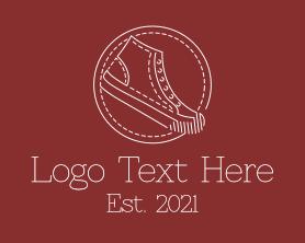 Retro Sneaker Shoes Logo