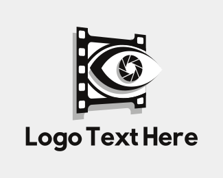 Eye - Eye Shutter logo design