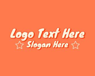 Kids - Kids Cartoon Wordmark logo design