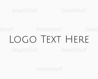 Simple - Simple Minimalist Wordmark logo design