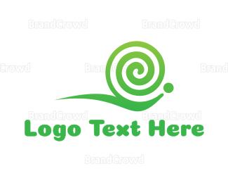 Whirl - Snail Twirl Gaming logo design