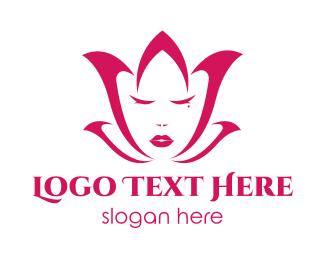 Hair Stylist - Lotus Beauty  logo design