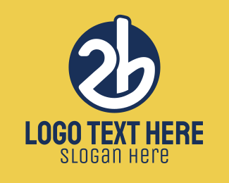 Burger Bar - 2b Circle logo design