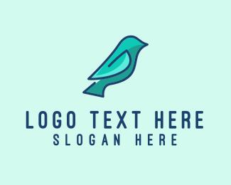 Bird - Simple Bird  logo design