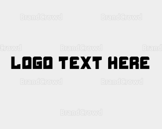 Web Design - Modern Wordmark Text logo design