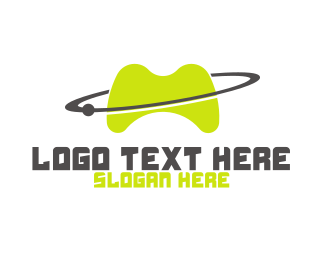 Planet - Planet Games logo design