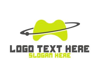 Gaming - Planet Games logo design
