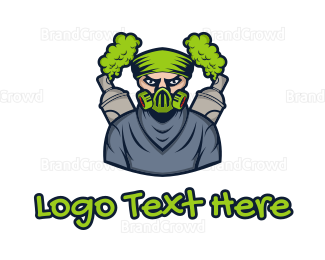 Graffiti - Mask Graffiti Artist logo design