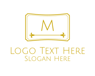 """""""Luxurious Lettermark Brand"""" by brandcrowd"""
