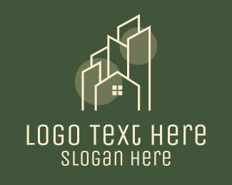 Property Sales - City Village Real Estate logo design