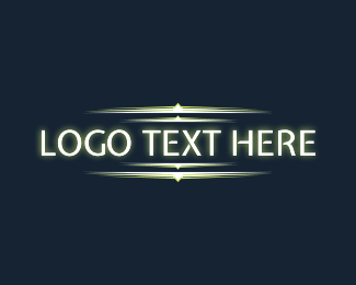 Luminous - Futuristic Cyber Wordmark logo design