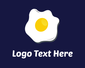 Breakfast - Fried Egg logo design