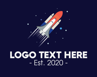 Space Capsule - Galaxy Space Exploration logo design