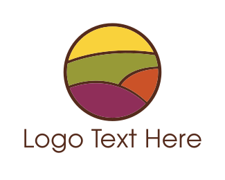 Field - Colorful Field logo design