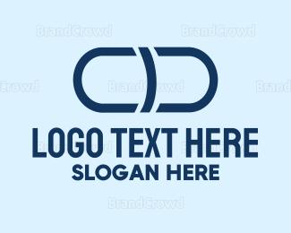 Mortar - Grey Capsule logo design