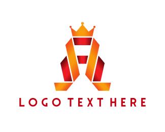 Tiara - Royal Letter A logo design