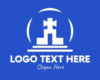 Religious - Religious Shrine logo design