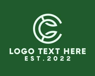 Letter C - Professional Green Letter C logo design