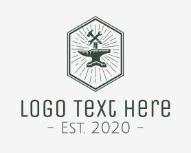 Handmade - Anvil Tools Workshop logo design