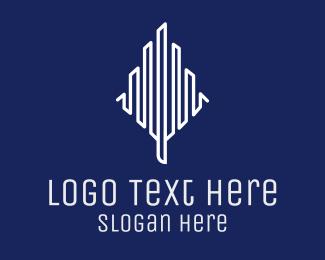 Building - Abstract Minimalist Building logo design