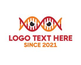 Geek - Science Eyes logo design