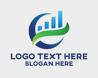 Business - Capital Finance Business Chart logo design