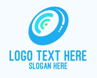 Speaker - Wifi Wheel logo design