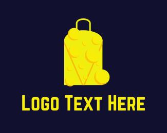 Cheddar - Cheese Bag logo design