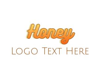 Honey - Sweet Honey logo design