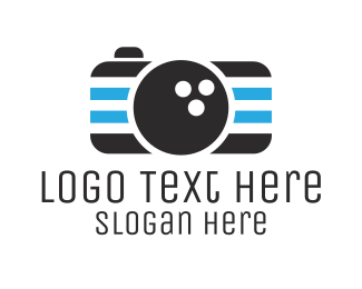 Instagram - Bowling Camera logo design