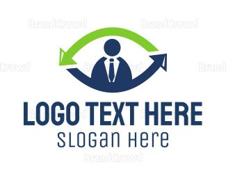 Body - Job Recruit Eye logo design