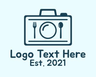 Food Photography - Blue Food Photography  logo design
