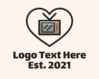 Auction - Television Love Commercial logo design