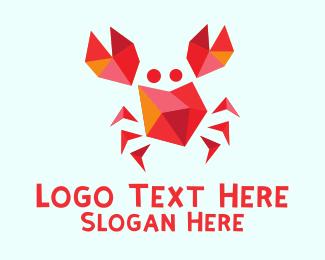 Crab - Red Crab logo design