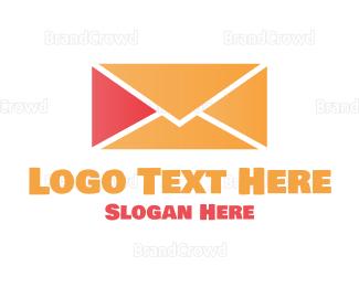 Airmail - Play Mail logo design