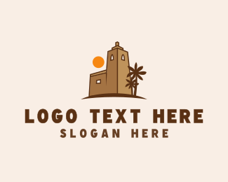 Middle East - Mediterranean Sunset  logo design