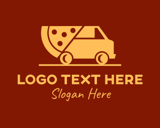 Food Delivery Service - Fast Pizza Delivery logo design