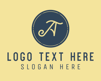 Accounting - Small Business Letter A logo design