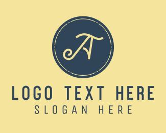 Font - Small Business Letter A logo design