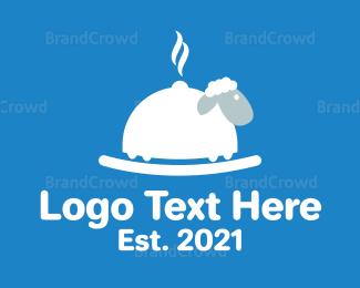 Lamb - Black Sheep Kitchen logo design
