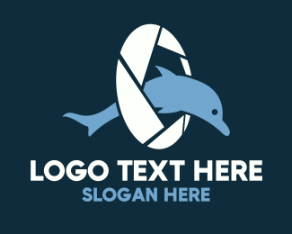 Dolphin - Dolphin Photography logo design