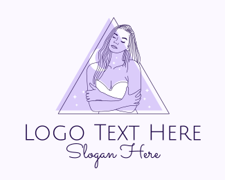Underwear - Fashion Woman Aesthetic logo design