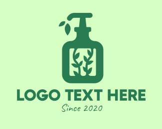 Lotion - Green Organic Lotion logo design